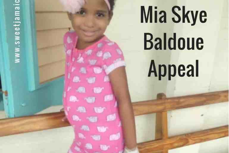 #PrayforMia Mia-Skye Baldoue Appeal – Support Jamaica
