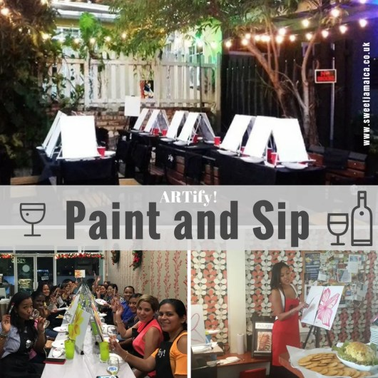 Paint and Sip! Artify Jamaica