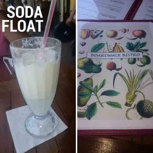 Soda Float Boardwalk Bistro