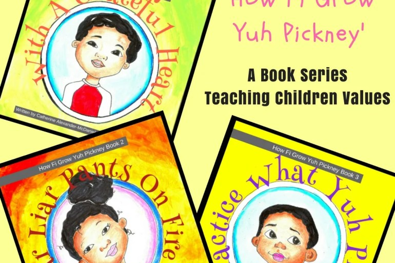 'How Fi Grow Yuh Pickney' Book Series Author Interview