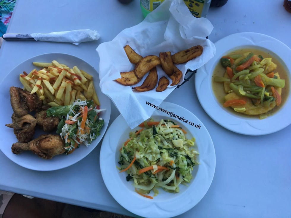 Meal at Pleasure Cove