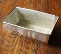 Grease & line loaf tin with paper