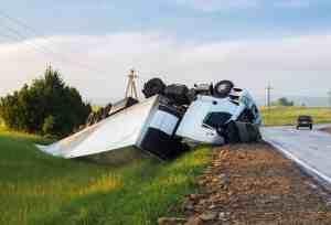 Semi-Truck Overturns in Crash on Highway 70 [Oroville, CA]