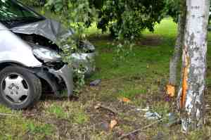 Two People Injured in Solo-Car Crash on Scripps Poway Parkway [Scripps Ranch, CA]