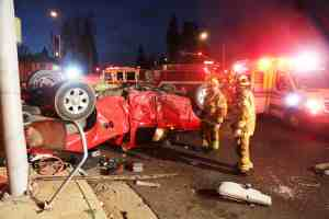 5 Injured in DUI 2-Car Crash at Beaumont Avenue and East 6th Street [Beaumont, CA]