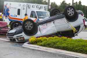 Injuries Sustained in Rollover Crash on 80 Freeway [Roseville, CA]