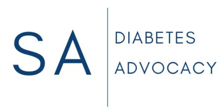 sa diabetes advocacy