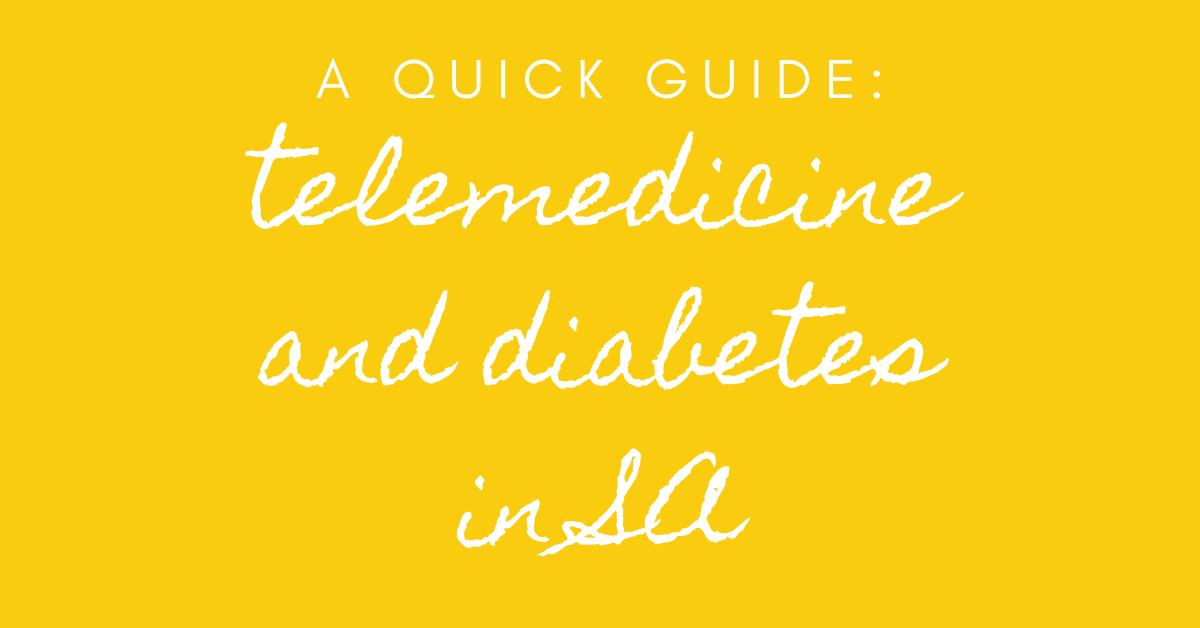 telemedicine and diabetes in SA