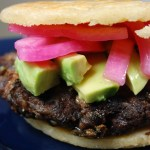Roasted Poblano Gordita Burger
