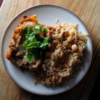 Easy Brisket Enchiladas
