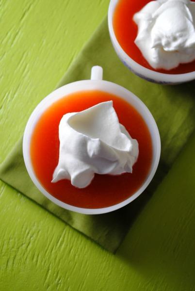 Jell-O Papaya Mimosas