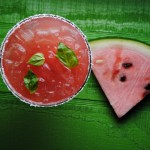 Watermelon-Basil Margarita