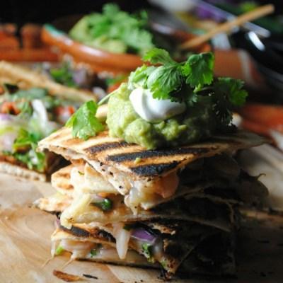 Shrimp Ceviche Quesadillas – Quesadillas Ceviche de Camarón