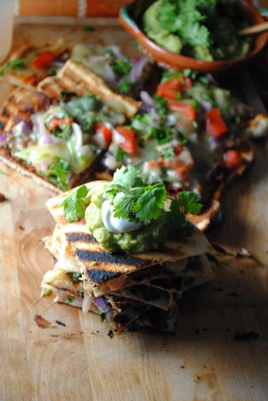 Shrimp Ceviche Quesadillas - Quesadillas Ceviche de Camarón