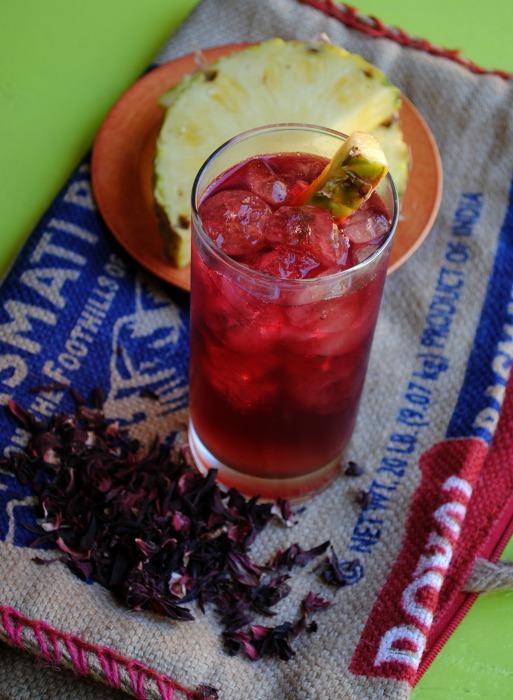 Hibiscus – Pineapple Rum Punch
