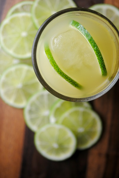 Pineapple Lime Tequila Cocktail from sweetlifebake.com