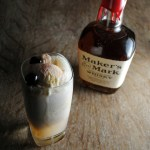 Old Fashioned Cocktail Ice Cream Float