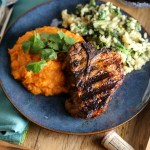 Chile Ancho Grilled Lamb Chops with Kendall-Jackson Wine