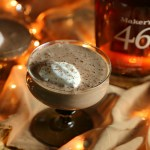 Mexican Chocolate Eggnog with Bourbon Whipped Cream