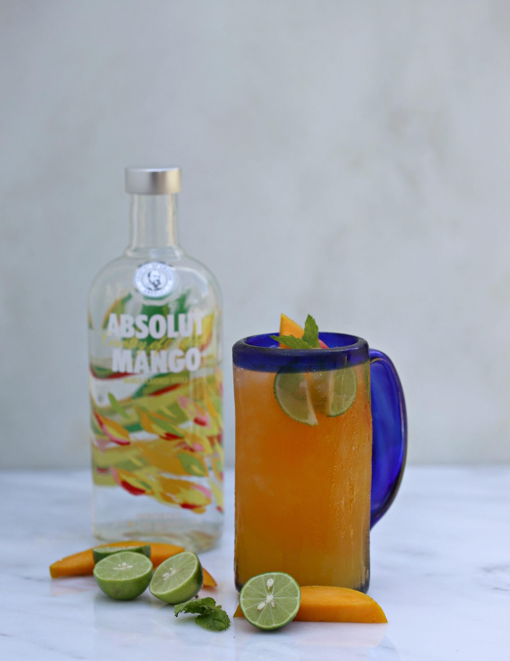 absolut mango cooler sweet life