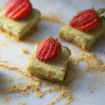 Avocado Cheesecake Bars