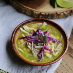 Easy Pozole Verde in the Slow Cooker
