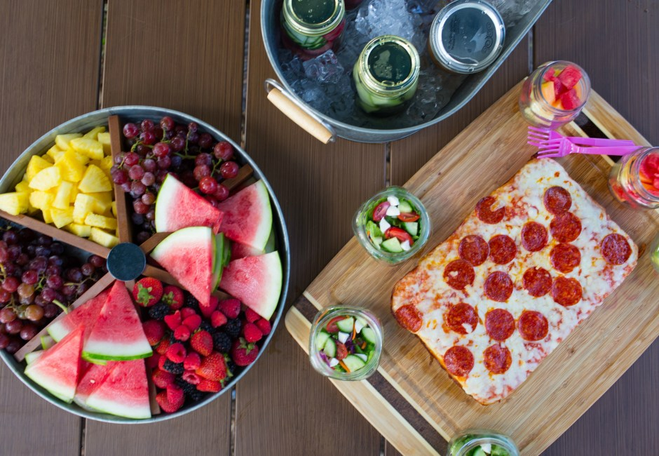 Host Family Movie Night with Crispy Pan Pizza