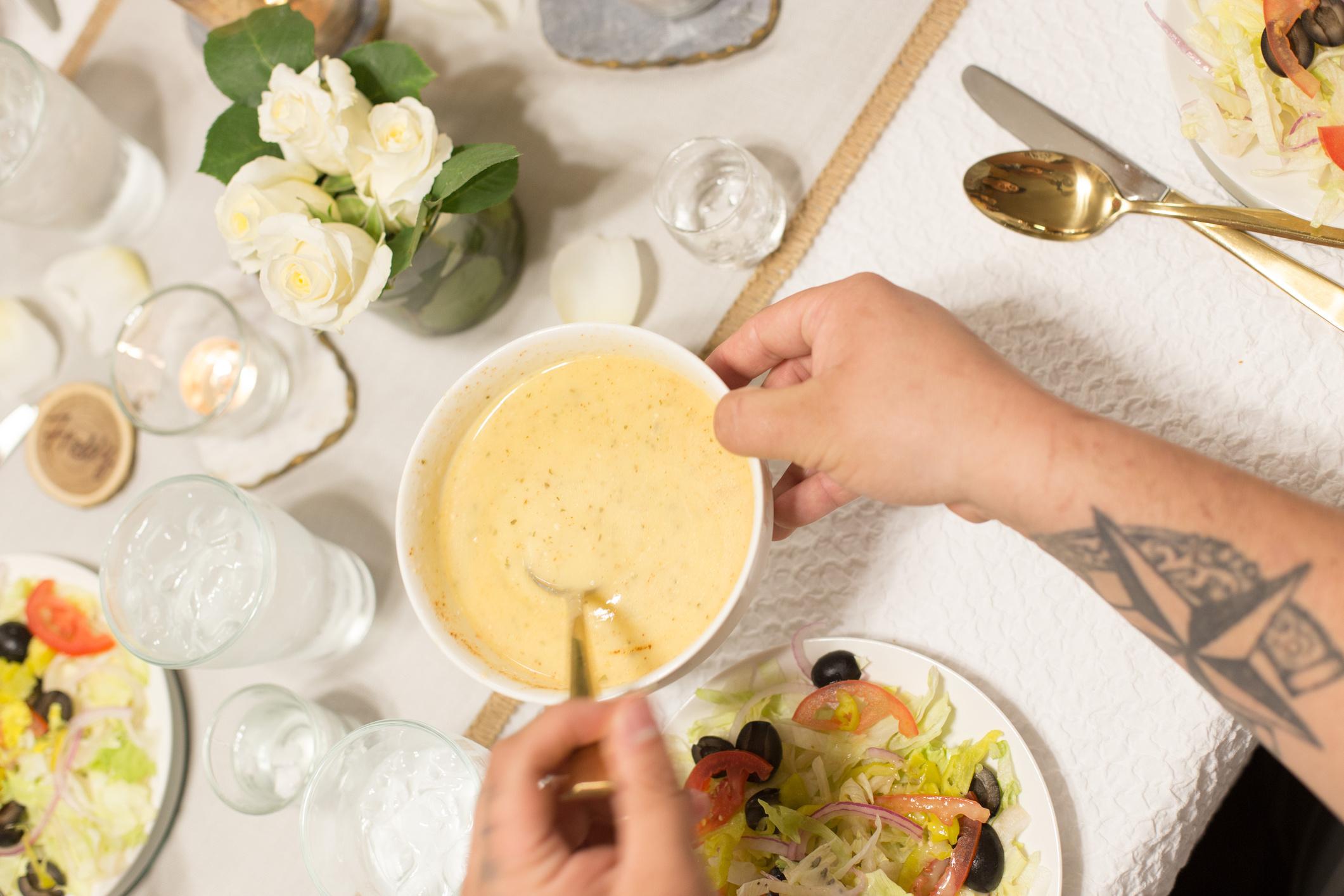 Olive Garden Salad With Spicy Olive Garden Dressing Selena Week Sweet Life