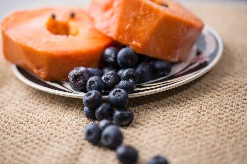 Blueberry/Papaya