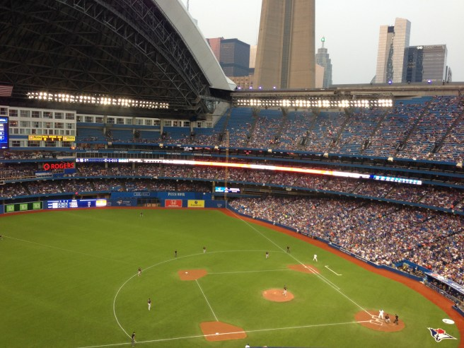 The Toronto Blue Jays at Rogers Centre