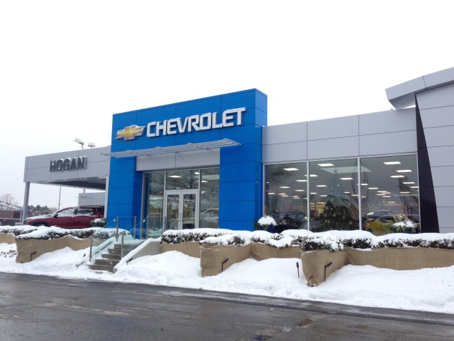 Hogan Chevrolet, Scarborough, Ontario. Photo by SweetLifeStyle.ca