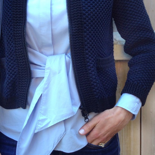 Structured Cardigan by Autumn Cashmere