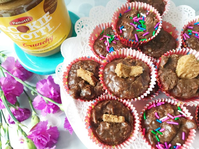 Cookie Butter Chocolate Oatmeal Cups