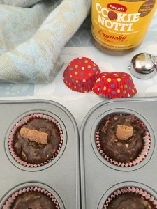 Cookie Butter Chocolate Oatmeal Cups Made With Penotti Cookie Notti