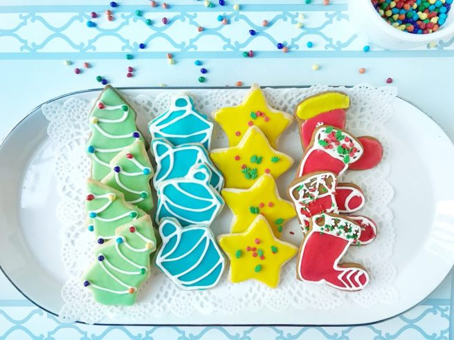 Shortbread Sugar Cookies; Holiday Cookies