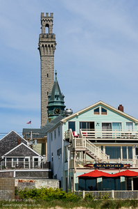 """Provincetown"", Pilgrim Monument from the Pier"