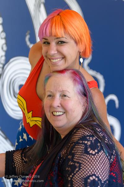 Rin Karnatz & Maud (aka Rainbow)