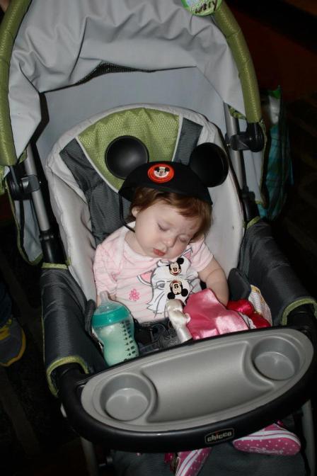 disney nap stroller