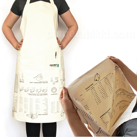 cooking guidelines apron