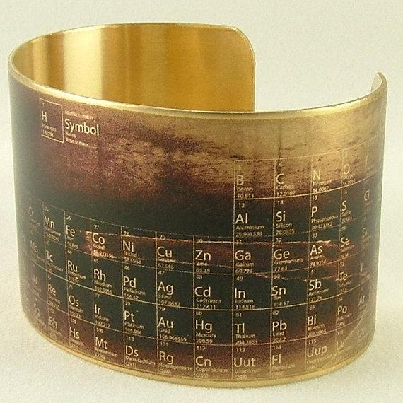 periodic table cuff