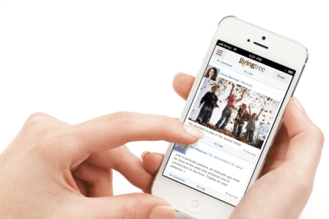 conversations living tree cell phone app