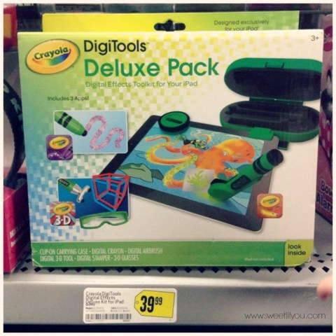 Cool Tech products for kidsCrayola DigiTools Deluxe Pack for ipad at Best Buy #OneBuyForAll #shop #cbias