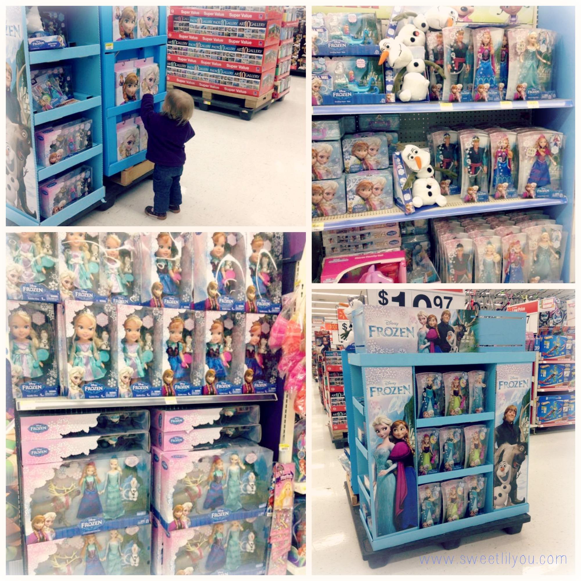 Frozen Disney Merchandise At Walmart Subway FrozenFun Shop Cbias
