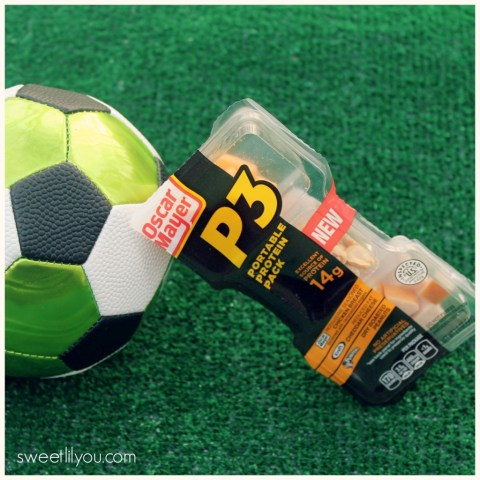 Oscar Mayer P3 Portable Protein Packs are perfect for soccer moms! #PortableProtein, #MeatCheeseNuts, #shop #cbias