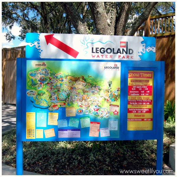 Legoland florida signage map