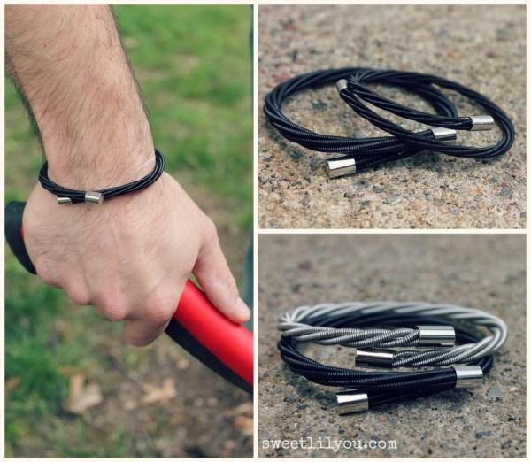 Wear Your Music bracelets are unisex