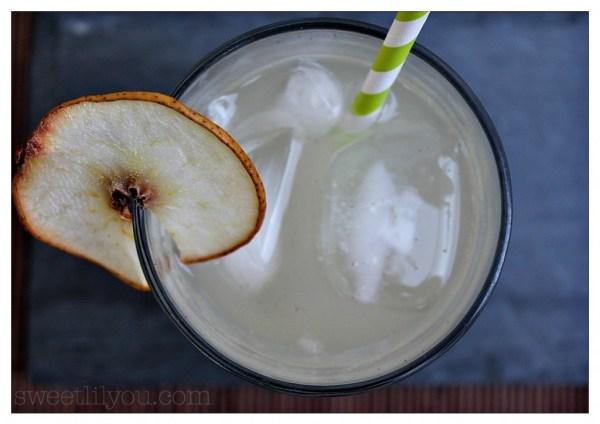Sparkling Vanilla Pear water