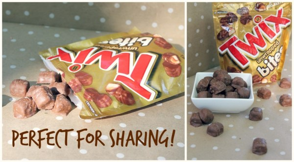 TWIX Bites are perfect for sharing! #EatMoreBites #cbias #shop