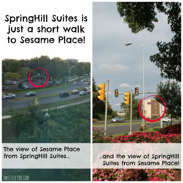 SpringHill Suites in Langhorne PA is just a short walk to Sesame Place!