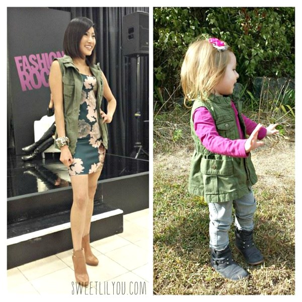 Military vests are in for fall #FashionRocks